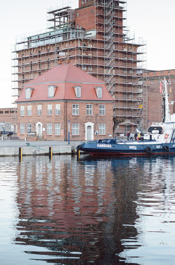 wismar harbor scenes Architecture Building Exterior Built Structure City Day Mecklenburg-Vorpommern Mode Of Transport Nature Nautical Vessel No People Outdoors Sky Transportation Water Waterfront Wismar
