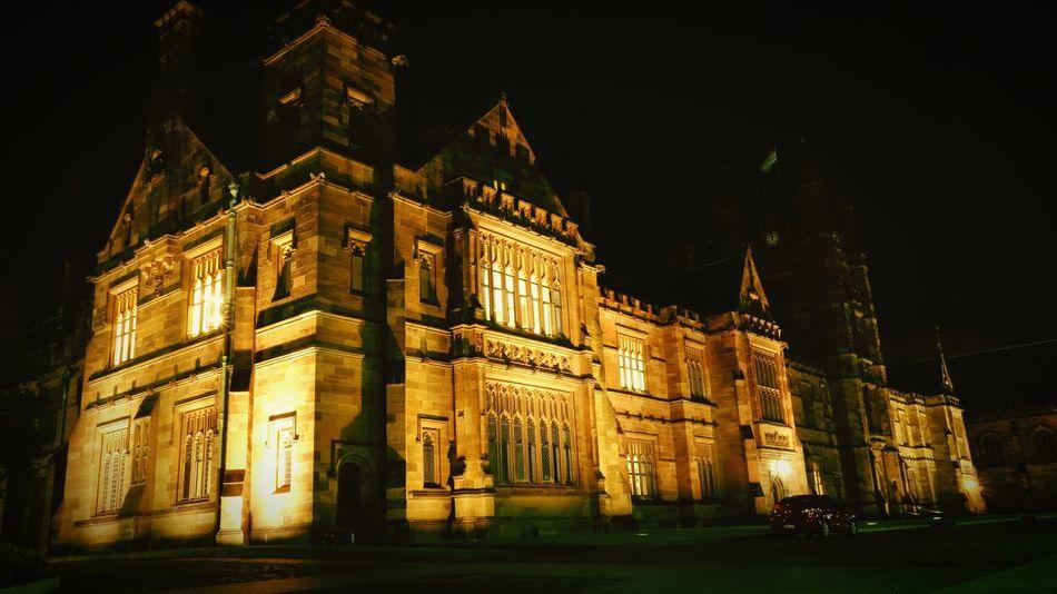 It is the golden Quadrangle. Quadrangle University Tourist Attraction  Studying Sydney