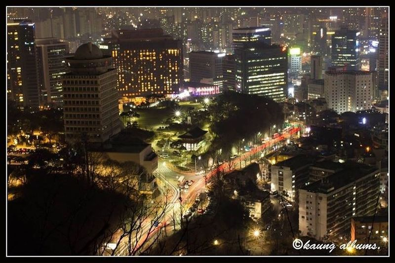 goodbye 2016 ....Seoul night First Eyeem Photo