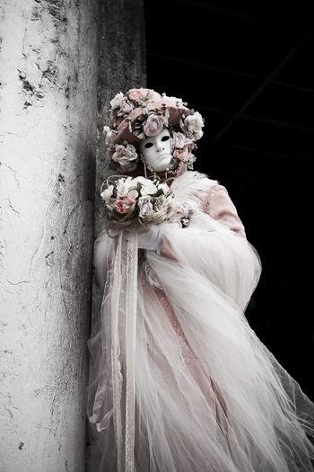 Ghost Italy Masquerade Phantom Portrait Venetian Venetian Mask White Colors Of Carnival