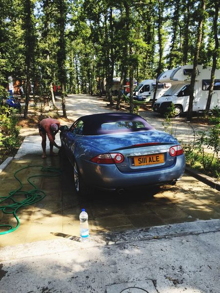 Sunday Morning Car Wash Day JAGUAR Xk