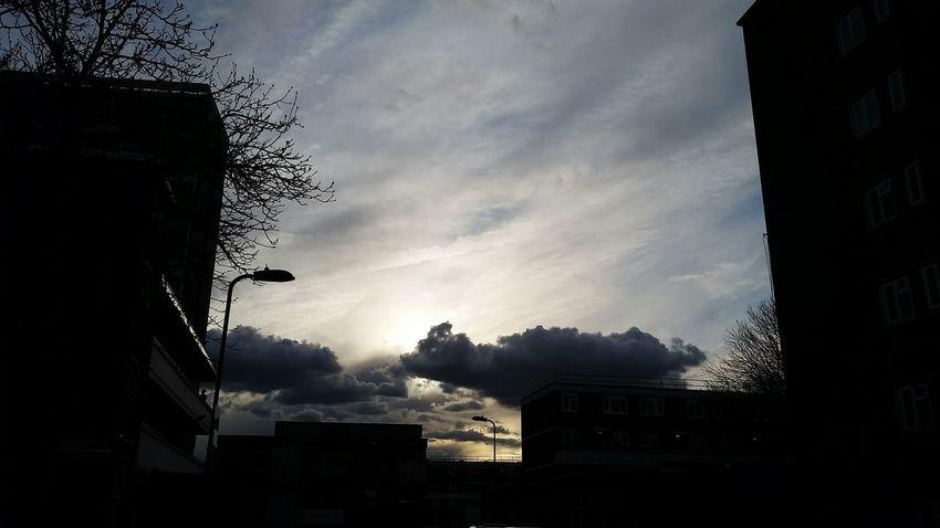 Evening Sky No Filter Sky Clouds Eastlondon