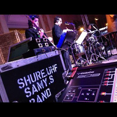 Samysband Livesound Show Digico sd9 shure stage
