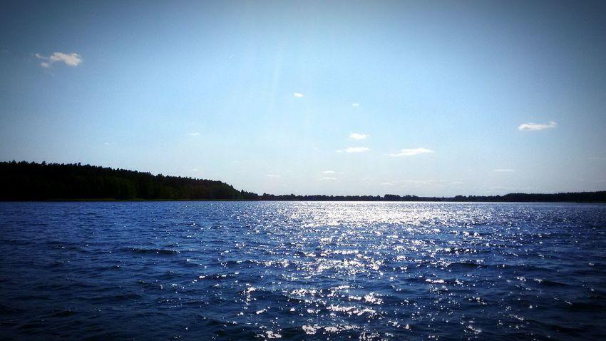 No co powiedzieć ... Woda Wiatr Słońce Jezioro Necko