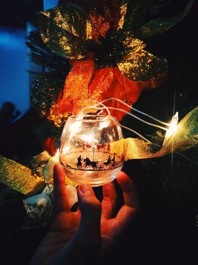 Yuletide Season.. Christmas2017 Christmas Tree Yuletide One Person Night Celebration