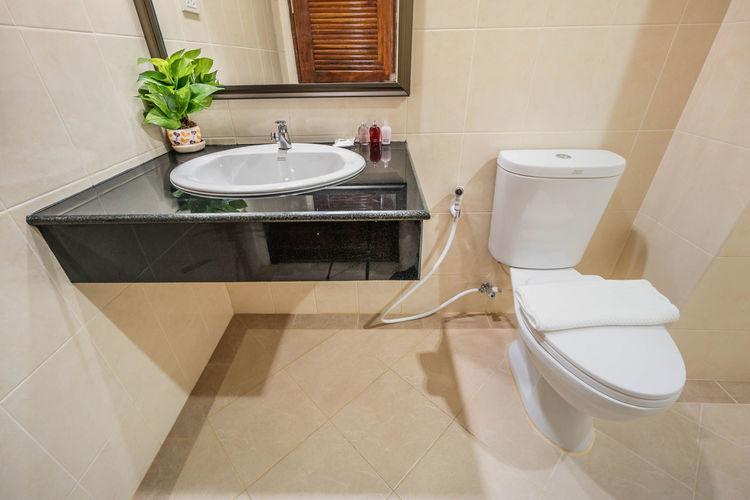 Bathroom Hotel No People House Modern Home Interior Indoors