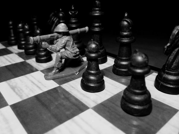 Strategy Chess Chess Board Chess Piece Queen - Chess Piece Leisure Games Close-up King - Chess Piece Challenge Teamwork Pawn - Chess Piece No People Indoors  Strategic Large Group Of Objects Strategy Game Games Black & White Table Game Soldiers War Queen King