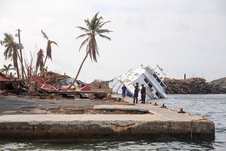 Hurricane Irma damage St. Thomas Hurricane Irma 2017 St Thomas, VI