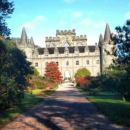 'Fairytale' InveraryCastle Inverary Scotland Castles Historical Turrets Architecture Gothic Fairytale Trees Gardens Instamagical instagrampolis instahub instamob primeshots