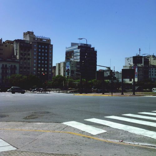Buenos Aires city sunshine