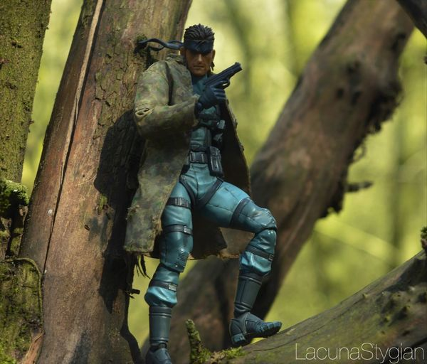 EyeEm doesn't reduce the quality of my photos like Insta! Toyphotography Figma Metal Gear Solid Metal Gear Solid Snake Toys