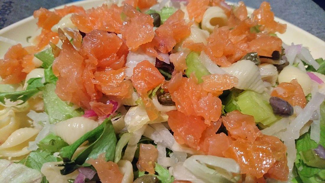 Hoy Ensalada de Salmone Healthy Food Food Photography Foodpics