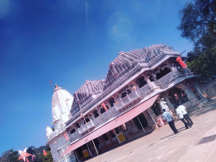 Way towards spirituality Blue Sky Temple Architecture Outdoors