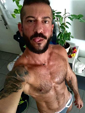 Me Gay Gayfit Beardedgay Gayselfie Gaylife Tongue Tattoos Beard Tattooedgay Beardgang tattooaddict