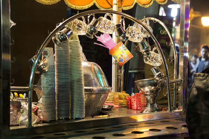 Drink Stand Drink Stand By Night Drinks Egyptian Drink Stand Food&drinks  For Sale Illuminated Night Small Business