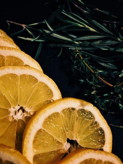 Close-up of lemon