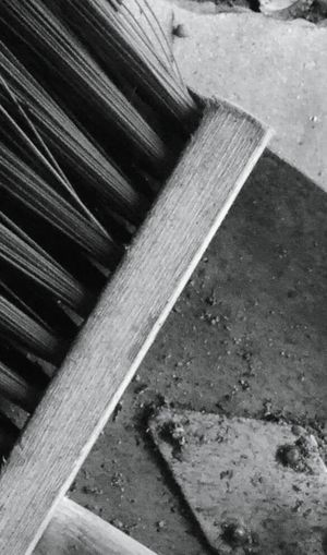 Close-up Steps No People Outdoors Scenics perception Day Picture Agriculture Broom Abstract Grey White Black Percepion