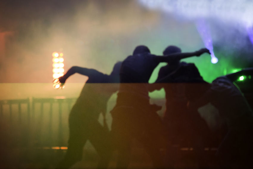 Boys Close-up Colorful Colors Dance Dancefloor Dancer Dancers Disco Event Illuminated Lights Lights And Shadows Music Night Nightlife Outdoors People Performance Real People Rear View Smoke Smoke - Physical Structure Stage - Performance Space Young Men Live For The Story EyeEmNewHere