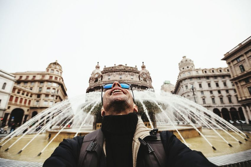 EyeEm Best Edits EyeEm Best Shots EyeEm Gallery Self Portrait Selfie Enjoying Life Genova Looking Into The Future Wideangle 16mm