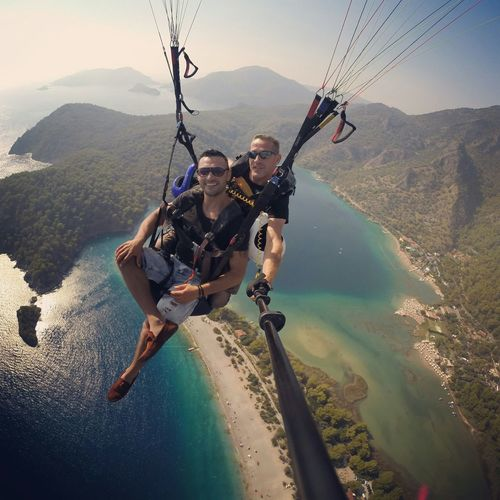 Parasailing Paraşüt Kulesi Flying Fly Turkiyelovers Izmirlife ölüdeniz Fethiye Babadag Summer Taking Photos Enjoying Life Adrenaline Superman Keyif :) Herzamankigibi Yerinde