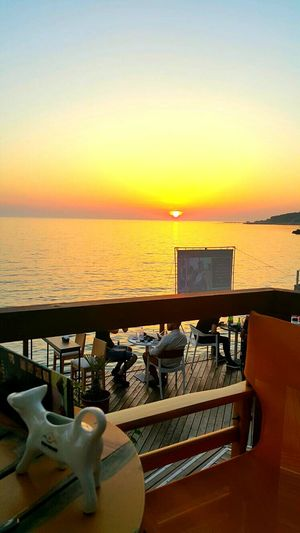 Anothersunset Sunset_collection Sunset Relaxing View Beachphotography LovelyAlbania PhonePhotography Durres Albania