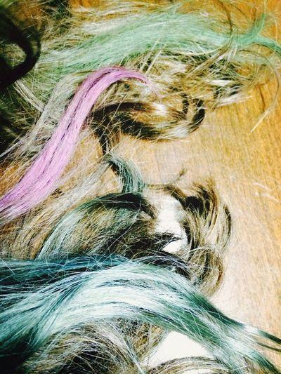 My beautiful colorful hair :))