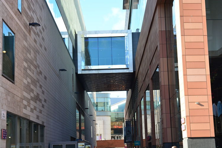 Daytime Stroll Box Cube Streetphotography NoEditNoFilter No People EyeEm Nikon D5200 Day Liverpool Built Structure Allmyphotography Blue Sky Architectural Design