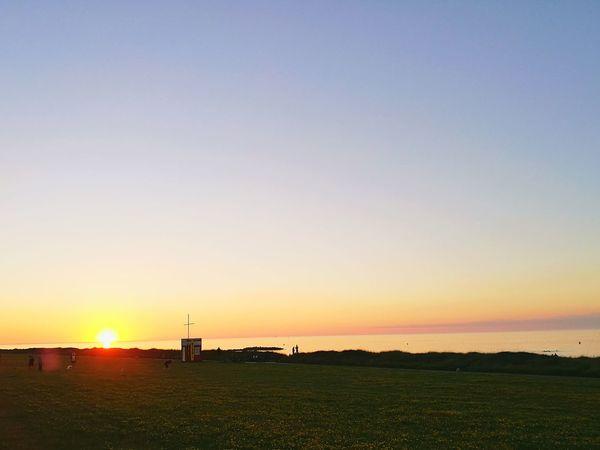 Sonnenuntergang Sun Sun Over The Sea