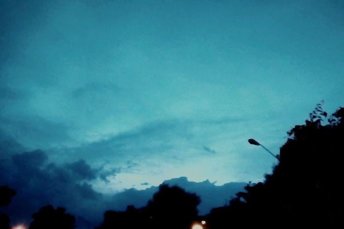 Atardecer Planetarium Sky Cielo Blue Sky