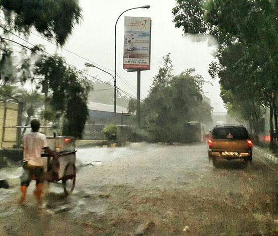 During Hard Rain