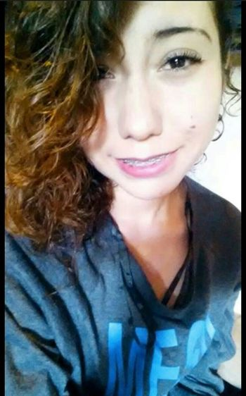? Smile ✌ Curly Hair Braces! Beautiful ♥