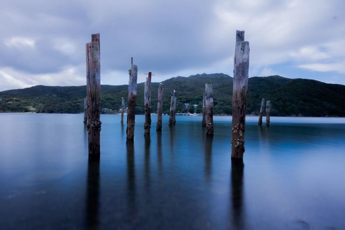 Whangaparapara Bay NZ Ladyphotographerofthemonth New Zealand Beauty EyeEm Best Shots - Long Exposure Long Exposure Sky Collection Clouds And Sky EyeEm Best Shots Light And Shadow Eye4photography  Where I Went Today
