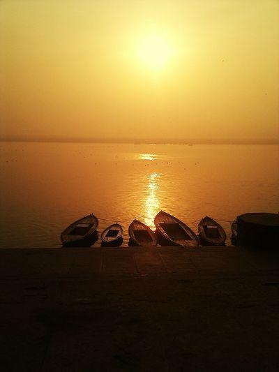 Ganges Sonnenaufgang