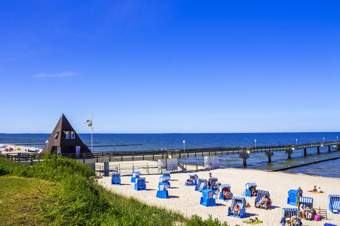 Nature Travel Beach Germany Koserow Landscape No People Nobody Travel Destinations