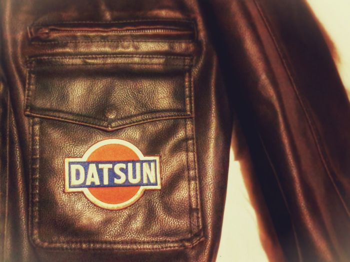 Datsun 280Z 280ZX Nissan Vintage Patch Patch Patches Leather Jacket 70s Japanese Auto