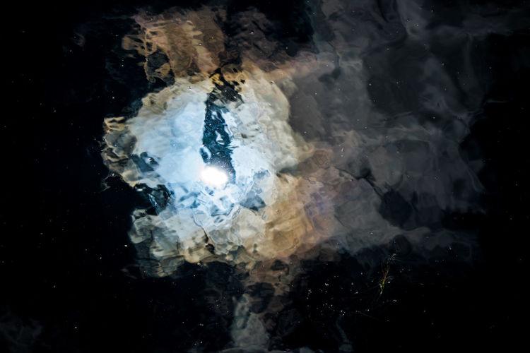 Close up of light
