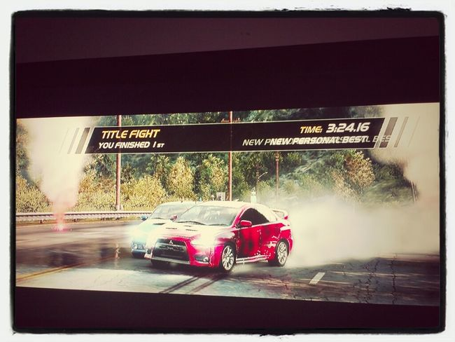 i styl won dat race imma beast at dat gme ( need for speed )