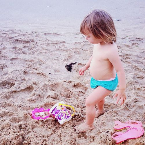 Pink & turquoise Life Is A Beach Notes Of An Innocent Childhood