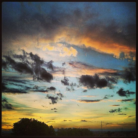 Cielo sopra Locate Triulzi