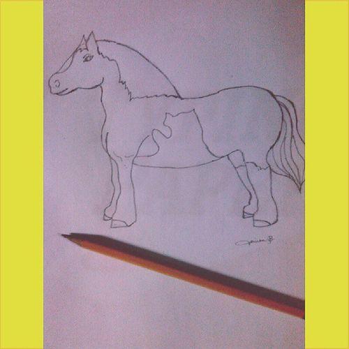 MyDrawing Horse Nagpadrawingangakongpamangkin Yahh Tigidig Igers Instapic Jovien 61313