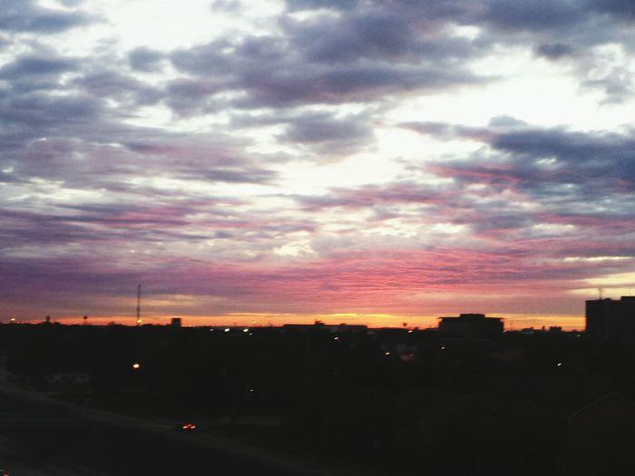 Tropical Morning Sky