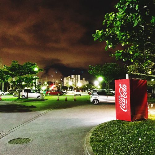 night of cocacola