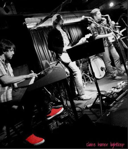 Red Sneakers Live Music Wineskin Rock N Roll Jam