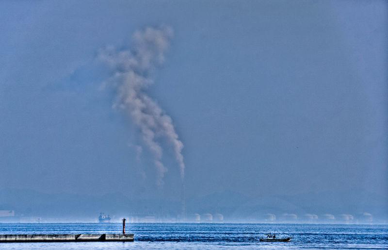 Factory / Sky / Sea