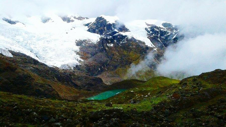 Nevado De Huaytapalla Junin-Peru , South America.