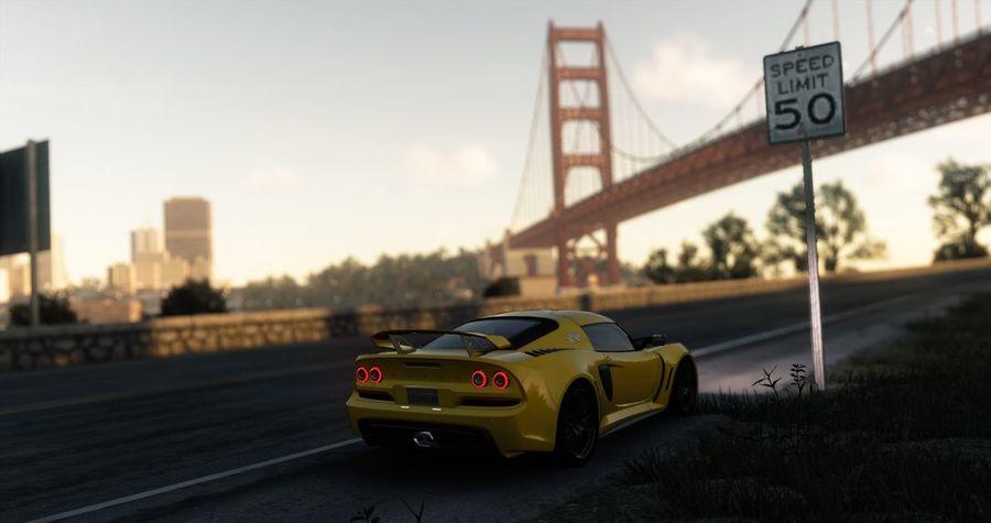 Lotus Exige @ San Francisco San Francisco Bay San Francisco Bay Bridge THE CREW The Crew! Cars Games Videogames Ubisoft