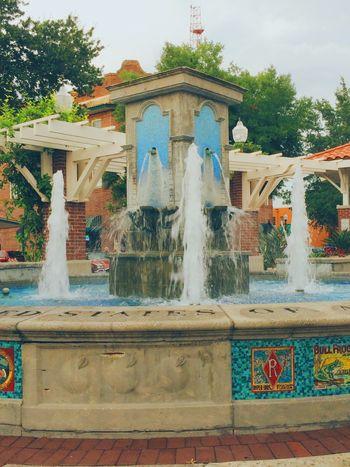 Fountain Water Fountain Winter Garden