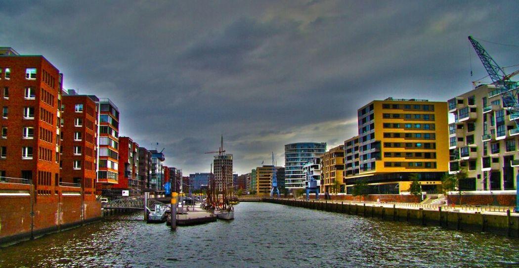 Architecture HDR Hamburg Hamburg Harbour