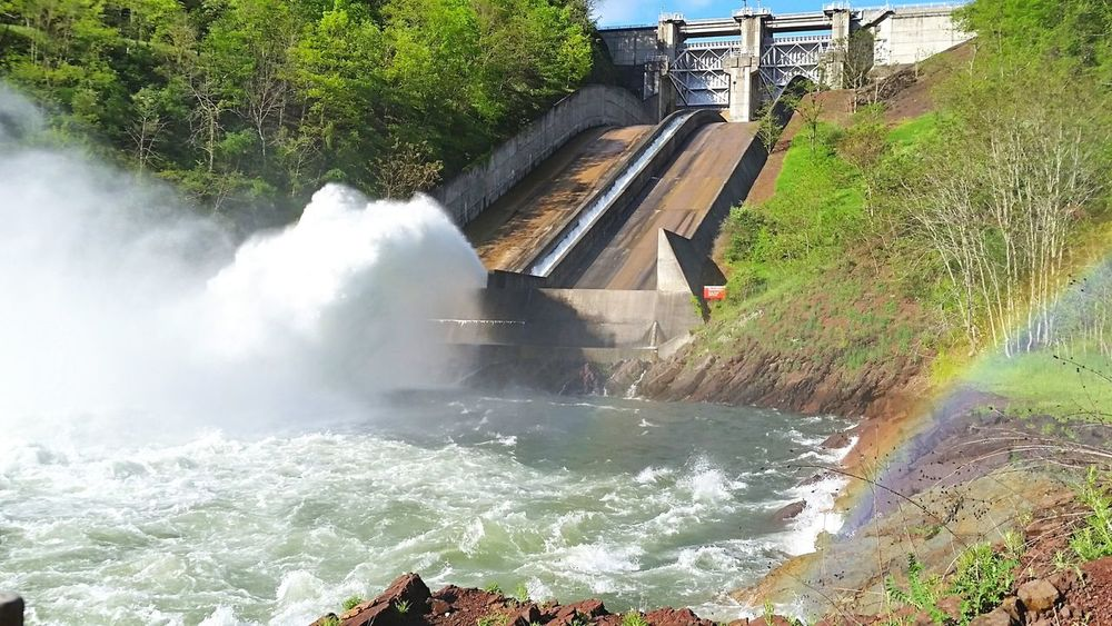 Water High Angle View Motion Outdoors Dam River Built Structure Nature Architecture Power In Nature Beauty In Nature Pennsylvania Beauty Nikon Nikonphotography Pennslyvania Scenics Stream - Flowing Water Waterfall Nature