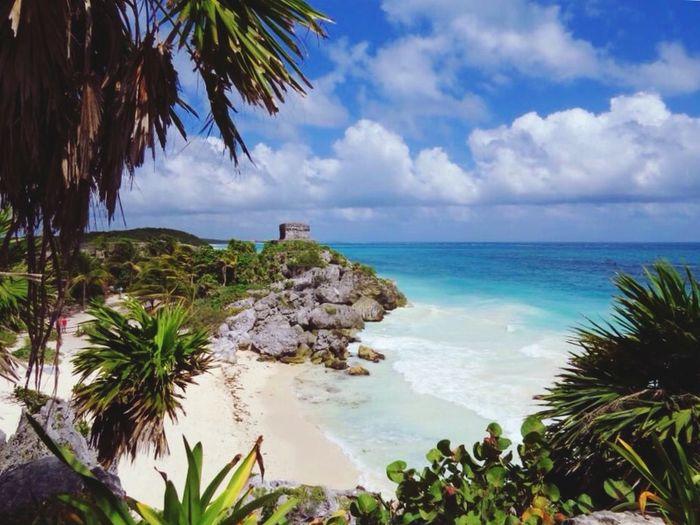 My Country In A Photo Tulum Tulum , Rivera Maya. Mexico Beach Life Is A Beach Travelingtheworld  Aerial Shot